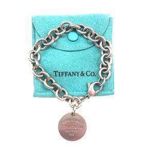 Tiffany & Co. Return to Tiffany Round Tag Bracelet
